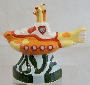 Artware Collectables The Beatles Yellow Submarine - Made in England - L/E